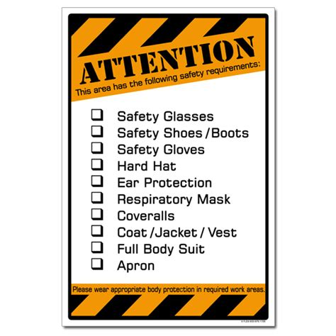 ai sp attention     safety equipment