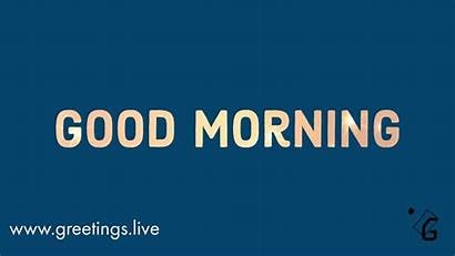 Morning Simple Greetings Animation Wishes