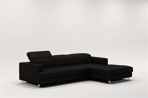canapé cuir noir but canapé angle noir