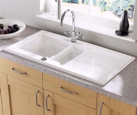 Equinox 1.5 bowl ceramic kitchen sink. Astracast Sink A