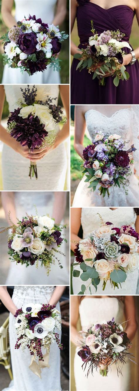 inspired   awesome plum purple wedding color