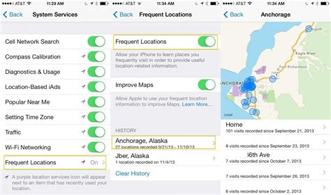 location on iphone how to keep your frequent locations on your iphone