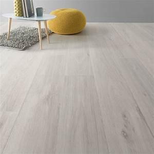 Revetement Sol Vinyle Clipsable : sol pvc blanc noma artens textile l 4 m leroy merlin ~ Premium-room.com Idées de Décoration