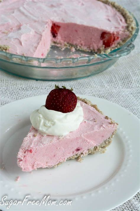But ditching refined sugar (white sugar, corn syrup, brown sugar, agave syrup) doesn't mean you have to miss out on the most amazing desserts. 26 Sugar-Free Low-Carb Easter Dessert Pies   Strawberry cheesecake, Frozen strawberries, Desserts