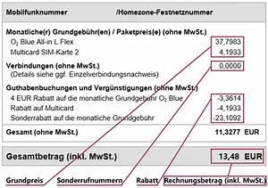 Mein O2 Rechnung : tarifhaus allnet flat tarife bewertung erfahrungen ~ Themetempest.com Abrechnung