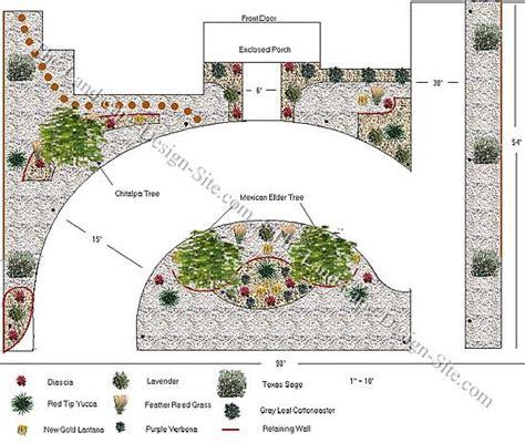 circular driveway design ideas front yard circular driveway design on a sloped lot southwest landscaping pinterest