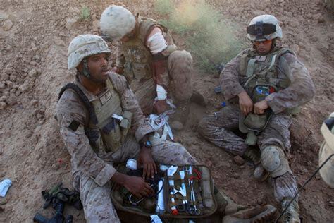 navy corpsman   replaced  marines fake story