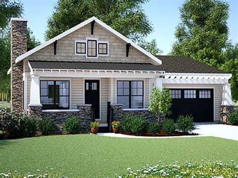Craftsman House Plans One Story by Craftsman Bungalow Small One Story Craftsman Style House