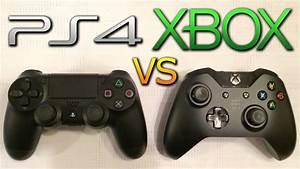 PS4 vs XBOX ONE Controller Comparison - Thumbsticks ...