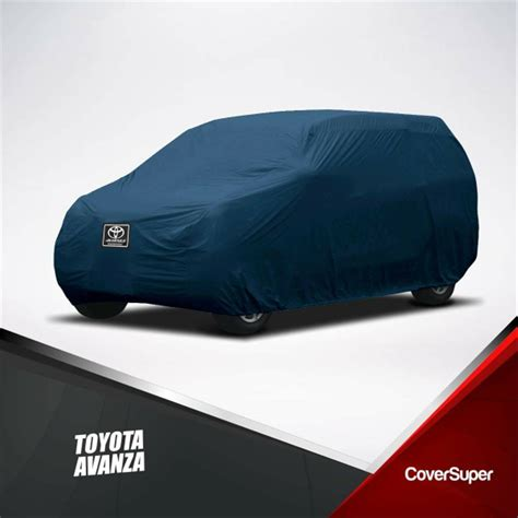 Cover Mobil Avanza Black jual cover mobil toyota avanza indoor murah berkualitas di