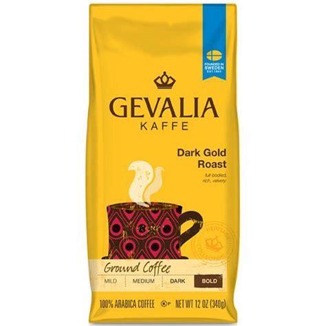 Two average joes drink and review gevalia kaffe espresso roast coffee. Gevalia Kaffe Bold Dark Gold Roast Ground Coffee 12 oz Bag   eBay