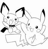Pikachu Coloring Pages Dibujos Para Print Pintar Pokemon Colorear Dibujar Imprimir Printable Pichu Dibujo Kleurplaat Skylander Gorra Movie sketch template