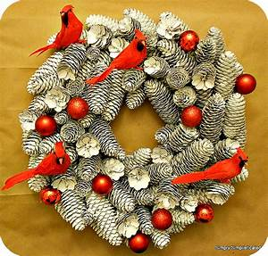 Simply, Simplisticated, My, Diy, Pinecone, Wreath