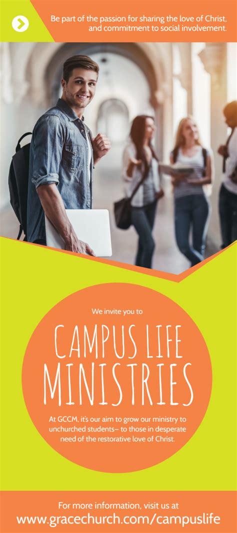 campus life ministries church flyer template mycreativeshop