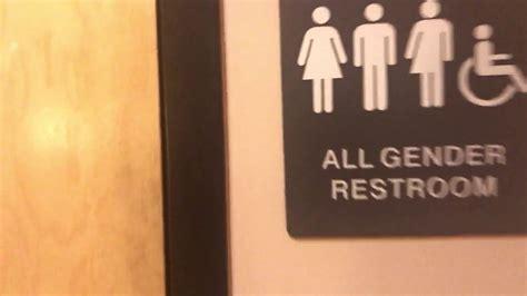 gender neutral multi stall bathroom youtube