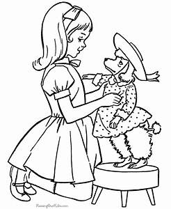 Free Puppy Coloring Pages - AZ Coloring Pages
