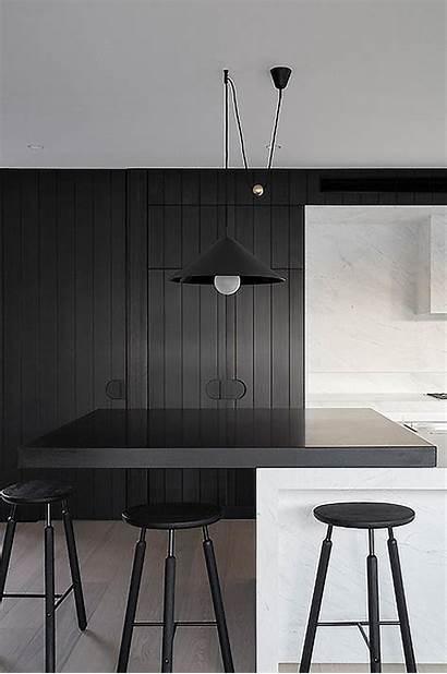 Minimalist Kitchen Interior Kitchens Designs Modern Dark