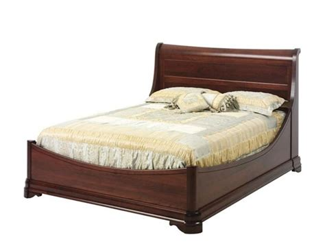 Louis Philippe Sleigh Bed by Amish Louis Phillipe Sleigh Bed
