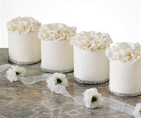 picture  charming individual wedding cakes