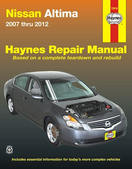 chilton car manuals free download 2007 nissan altima parking system nissan altima repair service manual 2007 2012