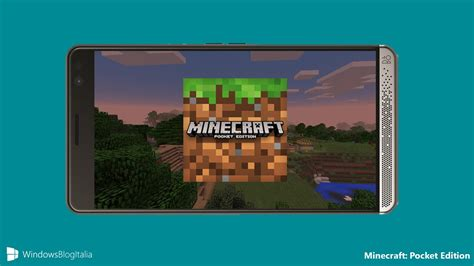 Minecraft Mobile by Minecraft Pocket Edition Per Windows 10 Mobile