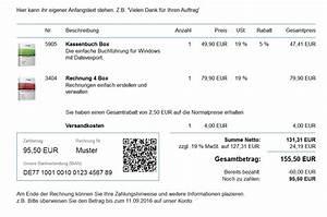 Rechnung Mit Kreditkarte überweisen : rechnungsprogramm ~ Themetempest.com Abrechnung