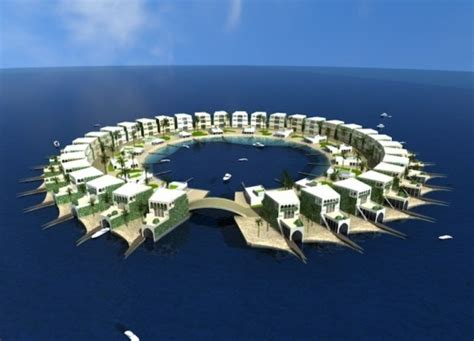 are dutch docklands floating islands a sustainable