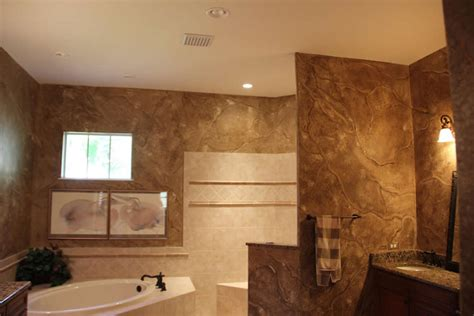 Faux Painting Ideas For Bathroom by Painting Faux Finishing Projects Ronspainting