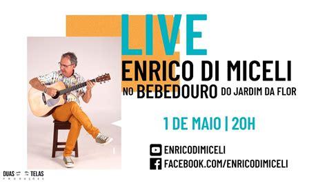 foto de #Live Enrico Di Miceli No Bebedouro do Jardim da Flor