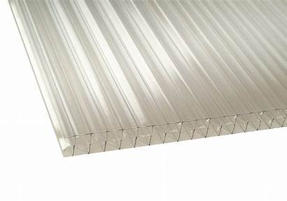 Clear Polycarbonate 35mm Roof Glazing Sheets Systems