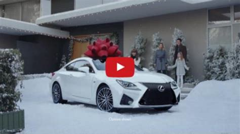 lexus christmas lexus encourages customers to wish big this holiday season
