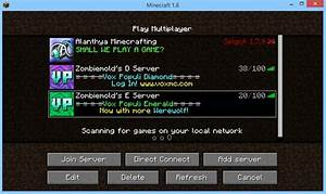 I Can39t Play On Minecraft PC Servers Arqade