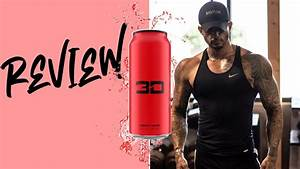 3d Energy Drink Review  Red Flavor