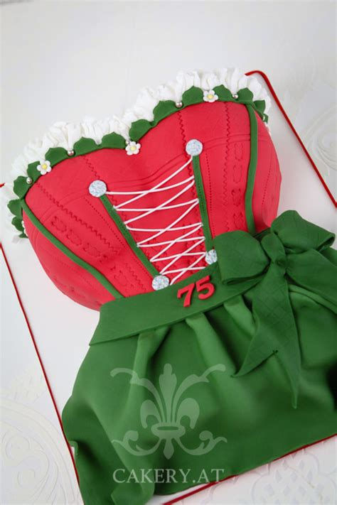 austrian dress trachtentorte rita  cakery torten