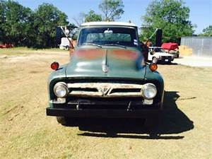 Purchase Used 1955 Ford F600 Truck With Hydraulic Dump Bed