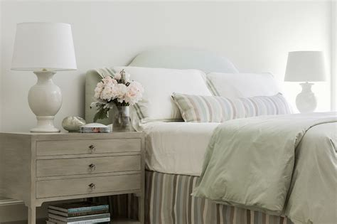 Gray Bedside Table-transitional-bedroom