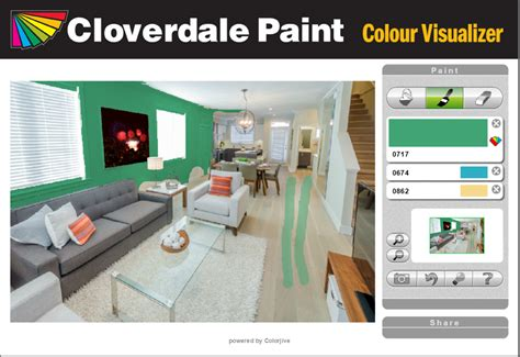 Living Room Paint Simulator