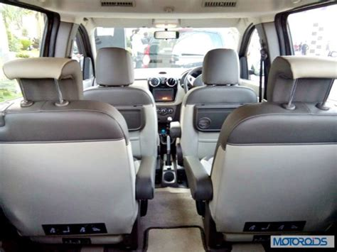 renault lodgy seating renault lodgy india image gallery and first impressions