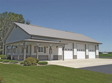 Metal Garage Buildings  Pros, Cons And Useful Buyer's Tips