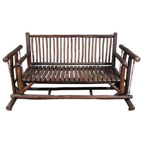Adirondack Glider  Benches, Hardware And Furniture