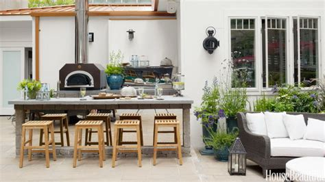 cool  practical outdoor kitchen ideas