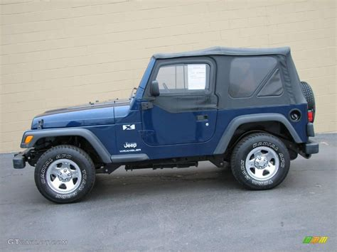 patriot jeep blue 2003 patriot blue jeep wrangler x 4x4 24874890 gtcarlot