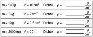 Kubikzentimeter Berechnen : die physikalische gr e dichte ~ Themetempest.com Abrechnung