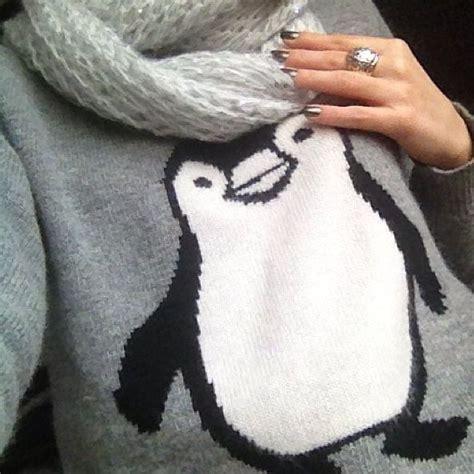 penguin sweater penguin sweater i penguins