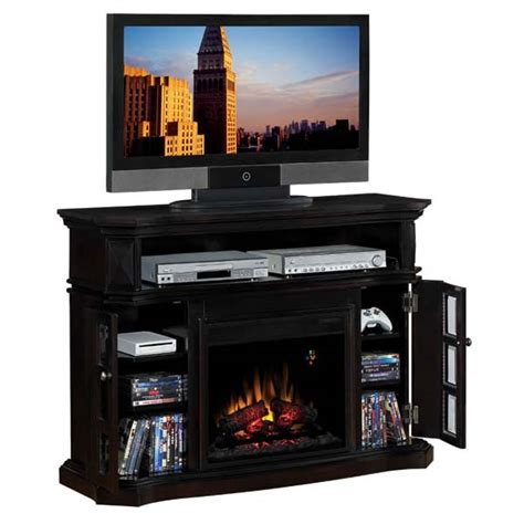 entertainment center with fireplace insert classic bellemeade entertainment center with
