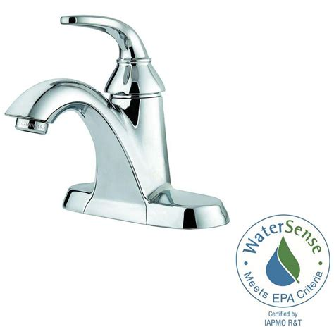 Pfister Pasadena Faucet Midnight Chrome by Pfister Pasadena Centerset Bathroom Faucet Polished Chrome