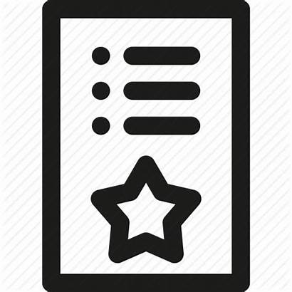 Icon Wishlist Shopping Star Items Paper Editor