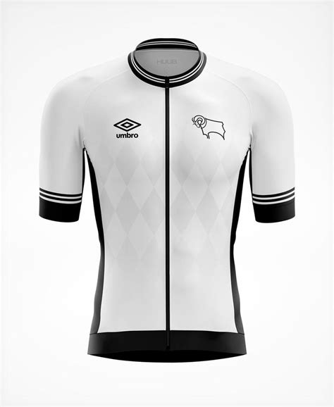Derby County Short Sleeve Cycle Jersey - Mens – HUUB Design