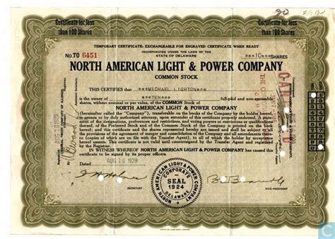 american light and power american light power company temporary