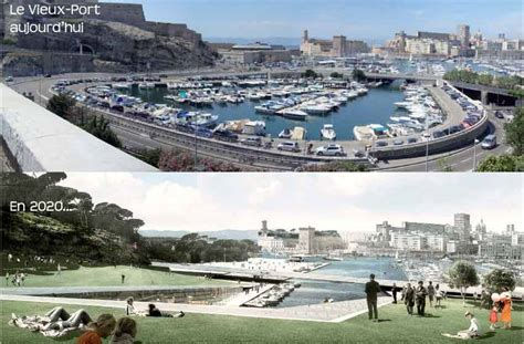plan du port de marseille